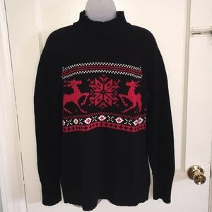 Mockneck Christmas sweater